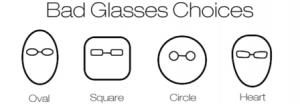 Cum sa NU iti alegi ramele de ochelari