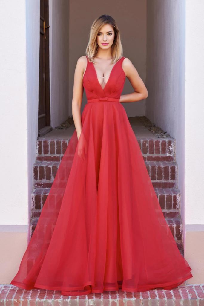 rochie rosie ana radu