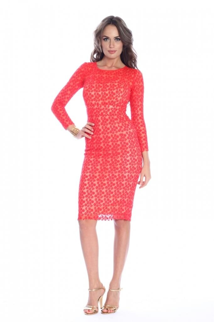 rochie rosie fashion up