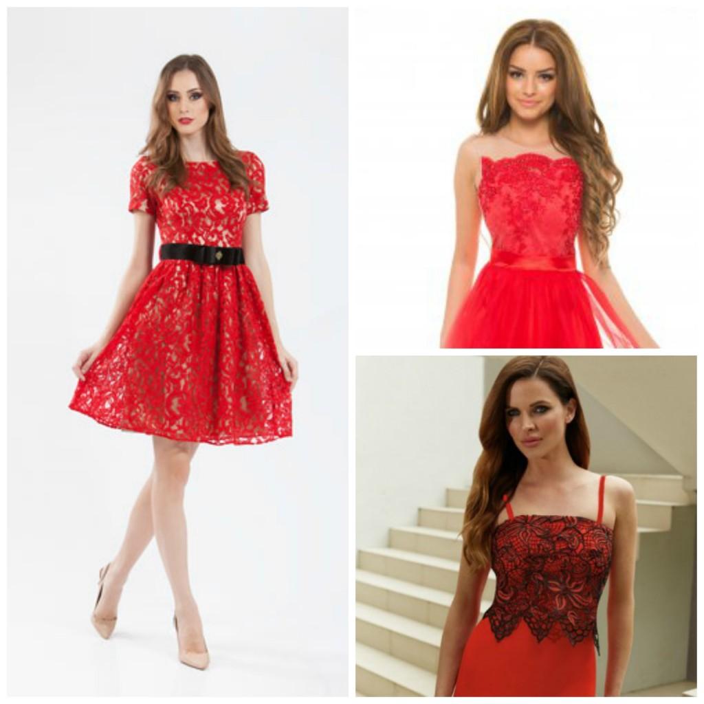 rochii rosii elegante