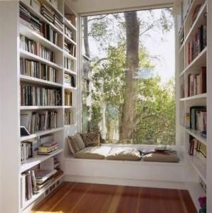 coltul pentru lectura