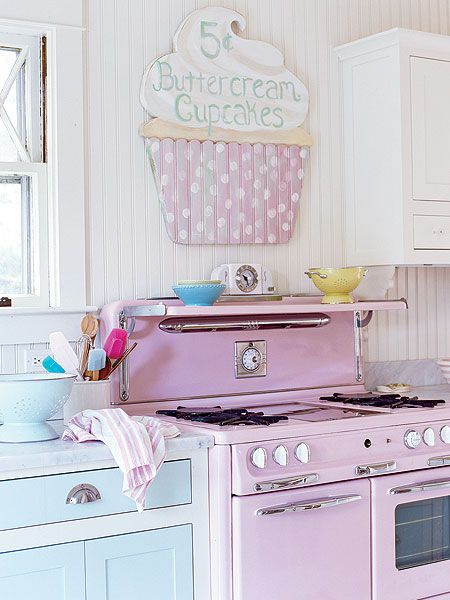 roz quartz in bucatarie