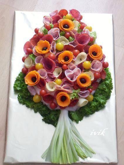buchet floral aperitiv festiv