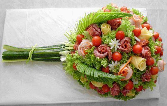 buchet floral aperitiv