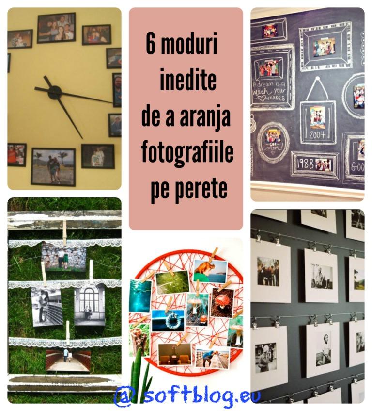 fotografii pe perete