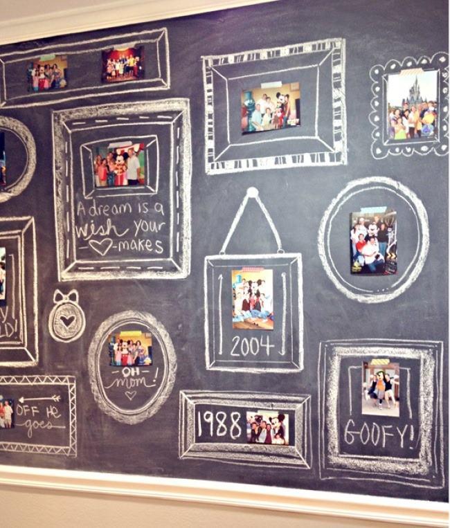 fotografii tabla perete
