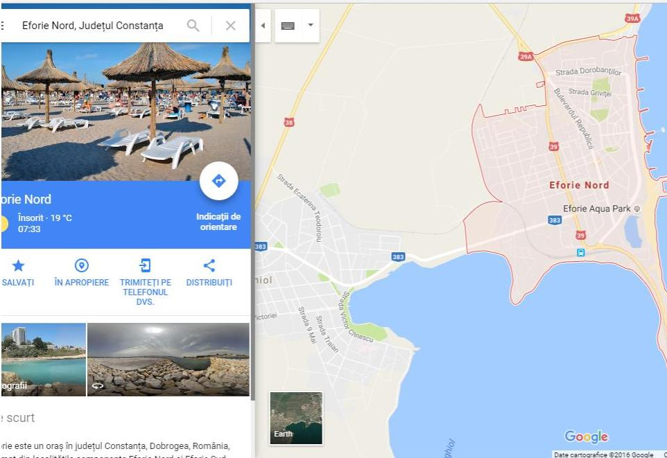 google maps offline eforie nord