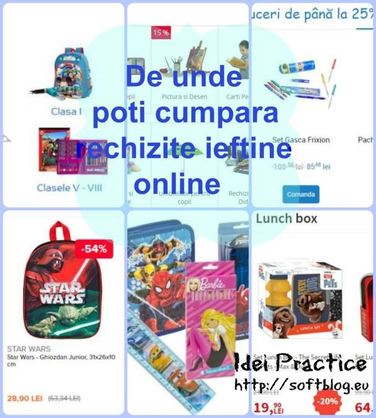 rechizite ieftine online