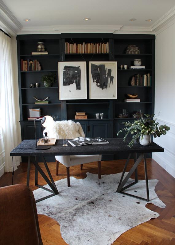 birou negru