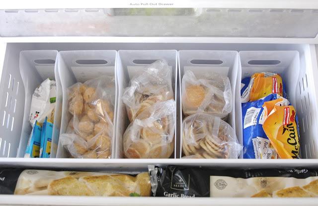congelator organizare