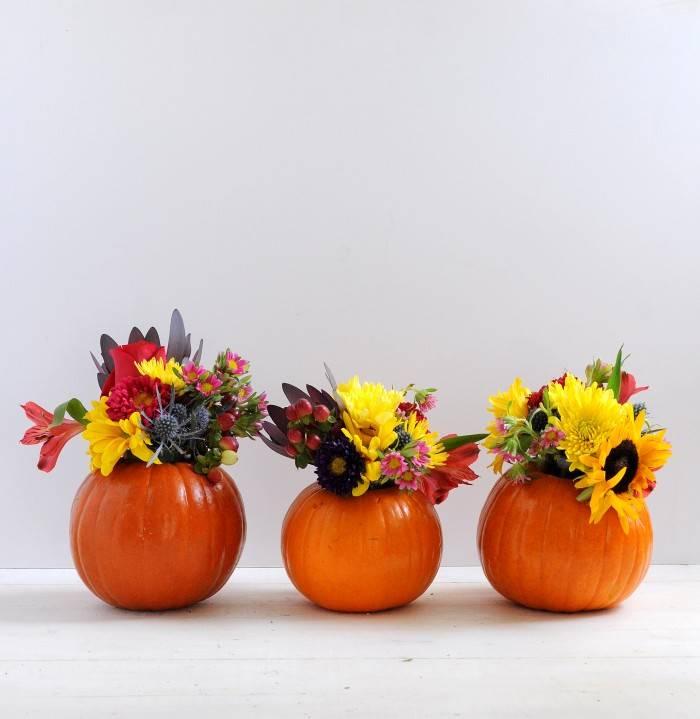 vaze flori dovleac
