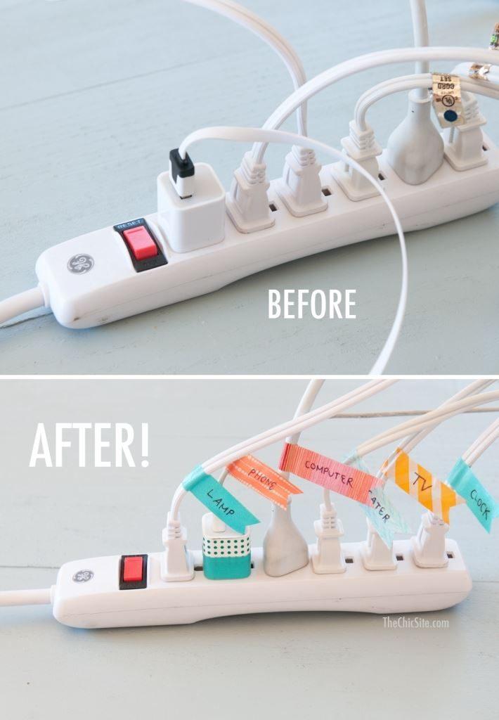cabluri etichetate