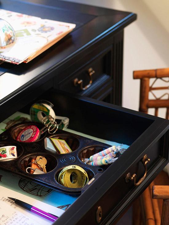 tava muffins pentru organizare sertar
