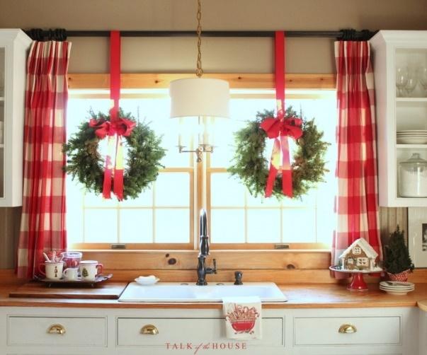 decorare bucatarie fereastra
