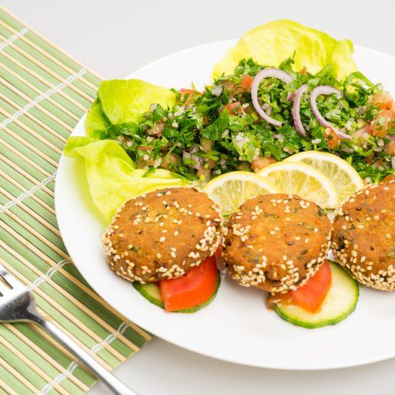 falafel mancare raw vegan