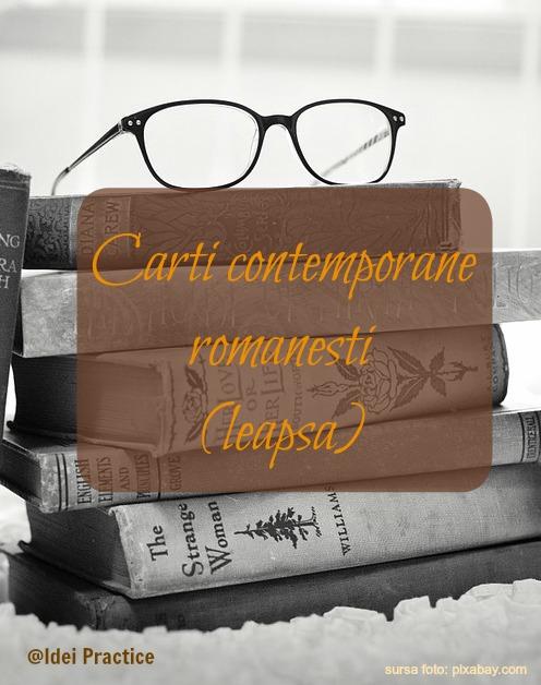 leapsa carti contemporane romanesti