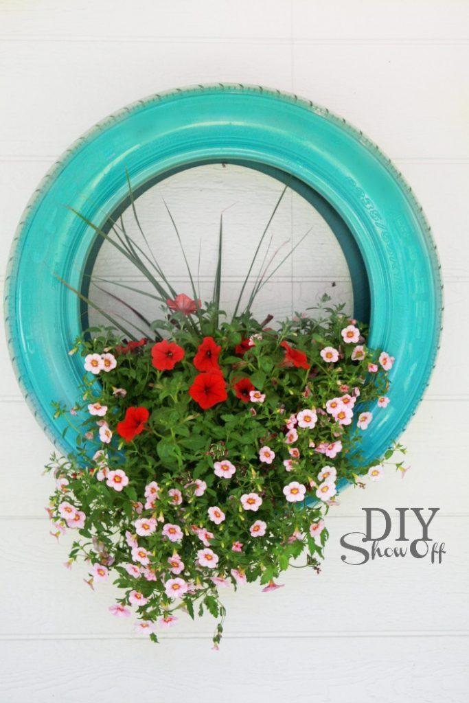 cauciuc vechi flori