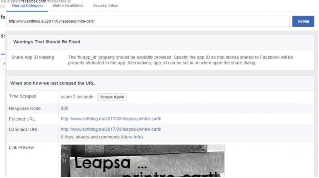 eroare facebook 1