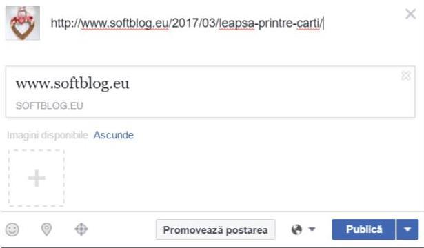 eroare facebook