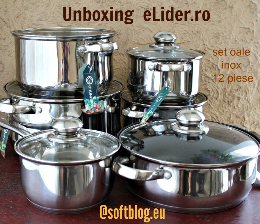 unboxing set oale inox