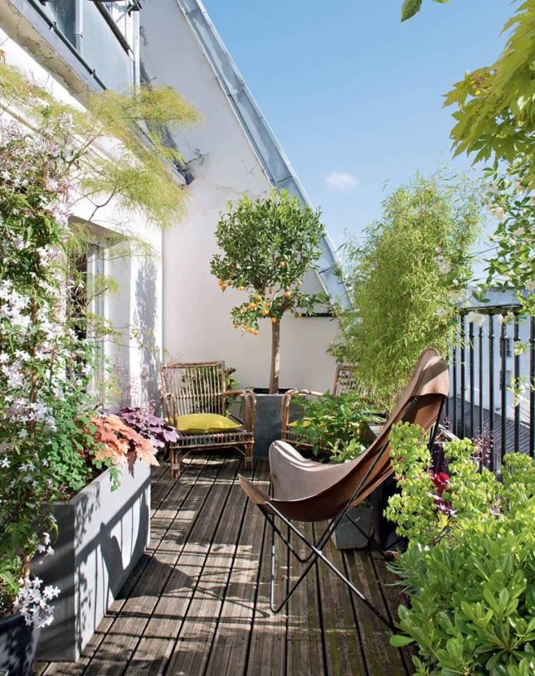 balcon flori