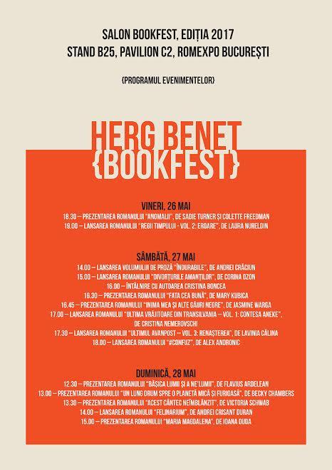 bookfest herg benet