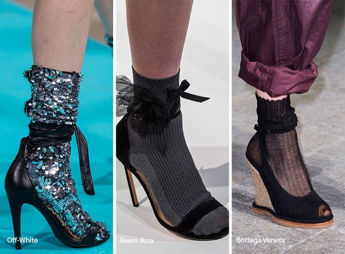 sandale cu soseta