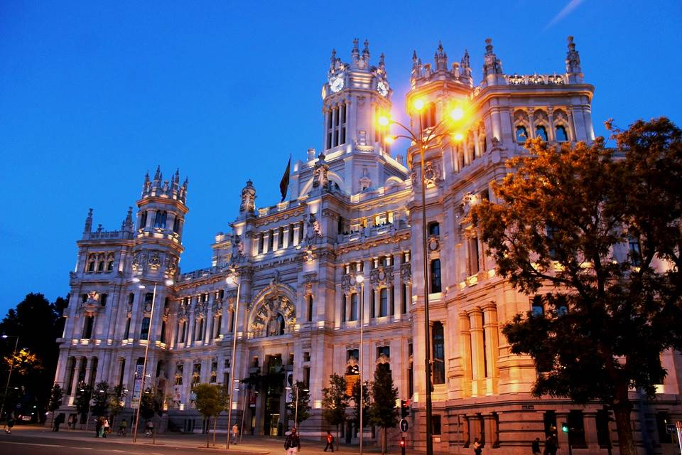 Madrid, capitala Spaniei