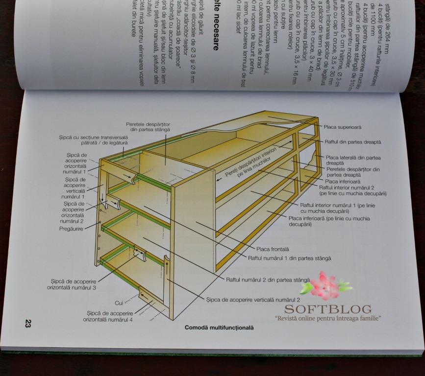 etajere din lemn cum se face