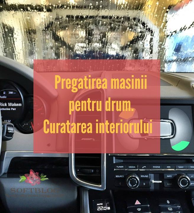 curățarea interiorului mașinii