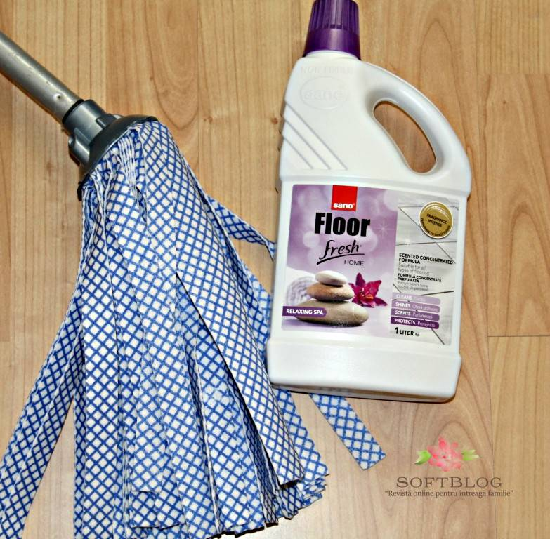 Detergent Sano Floor Fresh Home