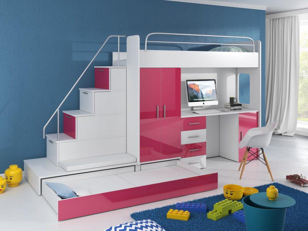 pat etajat pentru copii