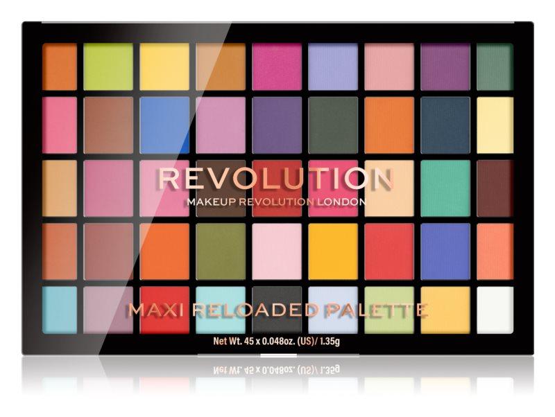 makeup revolution paleta farduri