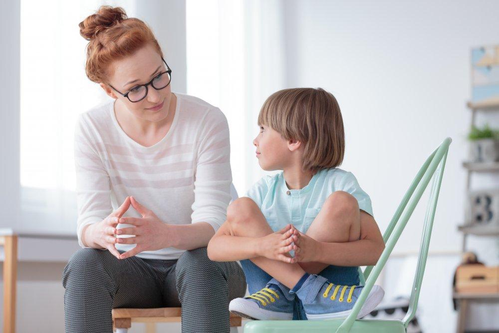copil la psihoterapeut