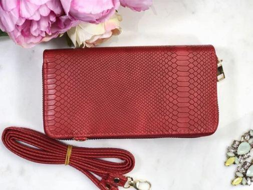 portofel roșu