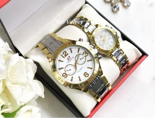 set ceasuri aurii cu argintiu